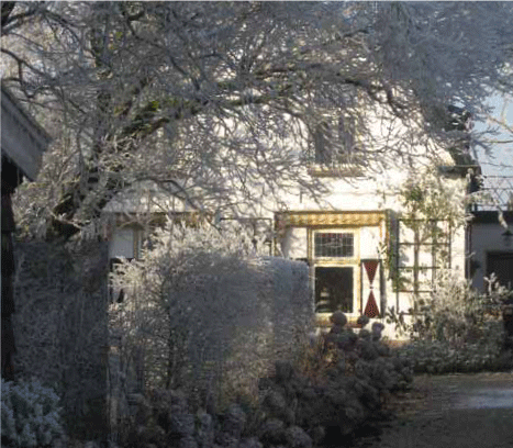 winter huis